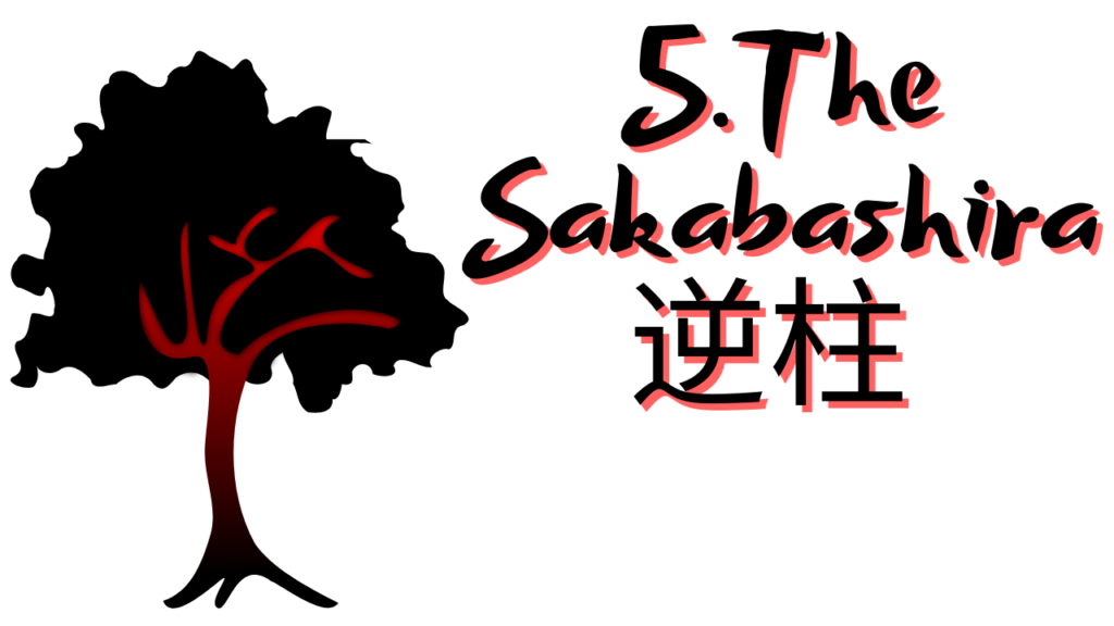 The sakabashira, a yokai you can find in your house.